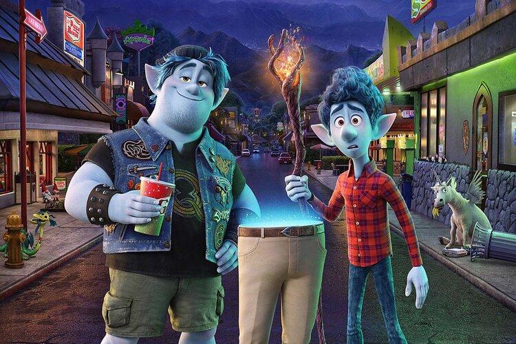 Dois Irmaos - Uma Jornada Fantastica - Pixar - 750 x 500