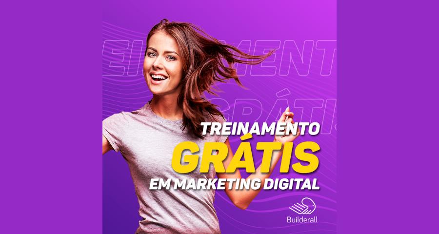 Treinamento Gratis em Marketing Digital - Builderall - Imagem Destacada