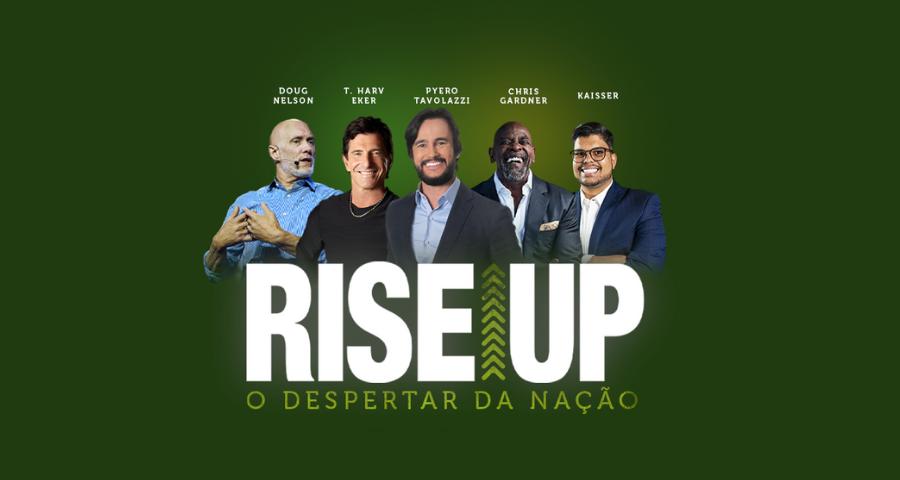 RiseUp Brasil - O Despertar da Nacao - Imagem Destacada